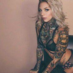 Madison Skye #tatoo #model #bodyink