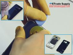 How To Tear Down The Samsung Galaxy S6 In 10 Steps http://www.etradesupply.com/blog/how-to-tear-down-samsung-galaxy-s6-in-10-steps/