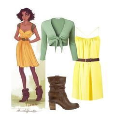 Great Halloween Costume Idea: Modern Day Princess 5: Tiana (Princess and the Frog)