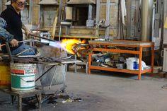 Glass making in Murano by Antony