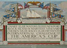 America's Cup - San Francisco 2013 - nautical chart