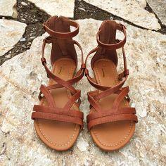 649de0aae1d Bristol Sandals (Brown) Flat Strappy Sandals