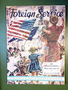 Foreign Service 47th National Encampment August 1946 September Veterans Magazine