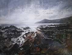 New Blood Art | Woolacombe Bay - North Devon by Peter Kettle | Buy Original Art Online | Artworks by Emerging Artists for Sale