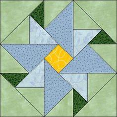 Bloco em patchwork