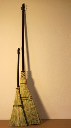 MotherChild Broom Set  Woven Corn Brooms for by SkagitBroomWorks, $70.00