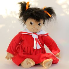 Empathy Dolls - Designed to stimulate empathy and promote conversation, these warm and substantial dolls have weighted bottoms and feel as if you are holding a real baby.