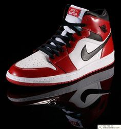 "It all starts here. A legendary franchise, as both a high performance footwear line & as cultural icon, is launched – the Air Jordan 1. So revolutionary for its day, they are banned by the NBA for violating its ""uniformity of uniform"" rule. Jordan wears them anyway, incurring a $5,000 fine per game. Likewise, MJ unveils his revolutionary style of play to the league & world at large, making his first All-Star game appearance, earning Rookie of the Year honours & inspiring Boston Celtics…"