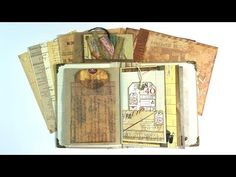 Craft Along With Me Using Your Creative Studio Vintage Ephemera - YouTube Ribena, Personalized Gift Tags, Happy Mail, Vintage Ephemera, Creative Studio, Youtube, Crafts, Merry Mail, Manualidades