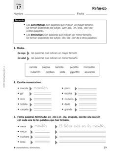 #ClippedOnIssuu from 33009195 refuerzo y ampliacion lengua 4 primaria 121026032108 phpapp02