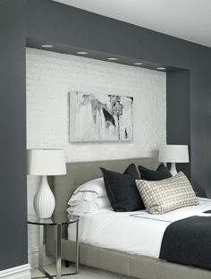 Bedroom, Light Luxury, Brooklyn USA, PHOTO © Robyn Lea