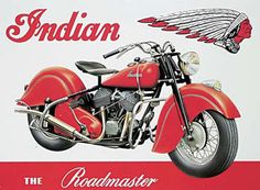 INDIAN ROADMASTER Carteles de chapa | Compra en EuroPosters