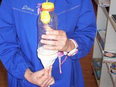 Scuola primaria Saint-Nicolas: Esperimento sull'apparato respiratorio