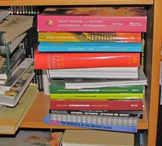 In de boekenkast van Antoinette Duijsters