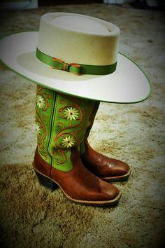 ❦ Custom made Buckaroo hat by Barry S