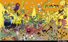 superjail- psychedelic sequences