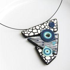 Geometrical pendant (inspired by Eva Hašková) |Marta Navrátilová - Šperkovna
