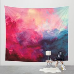 Reassurance Wall Tapestry by Caleb Troy | Society6