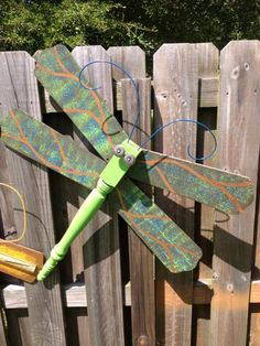 Upcycle ceiling fan blades into giant dragonflies pinterest table leg fan blades dragonfly aloadofball Image collections