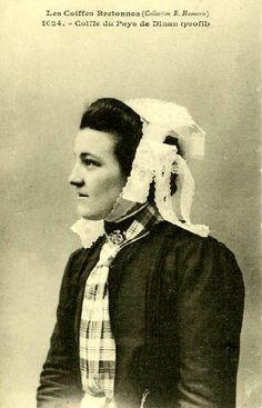 COIFFES de DINAN Bretagne en 1900