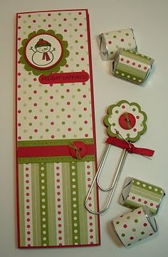 Christmas Wish List Book!  Would make a cute gift set packaged in a baggie with matching tag!