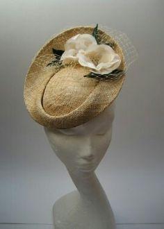 Straw Raffia Hat #millinery #judithm #hats