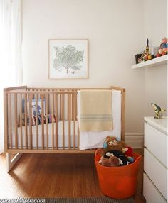 Lean, Green Baby's room