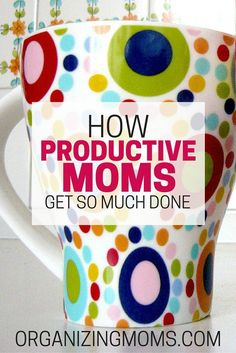 After observing super productive moms over time, I found they have these five behaviors in common. The second behavior on the list will really surprise you!