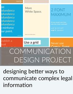 Legal Communication Design