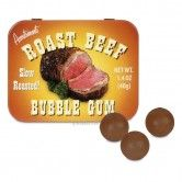 Gross! Secretly a part of me wants to try this...Roast Beef Bubble Gum