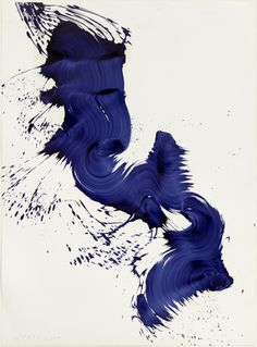 """Untitled"", 2004 // James Nares (British, born 1953) // #art #painting #abstract"