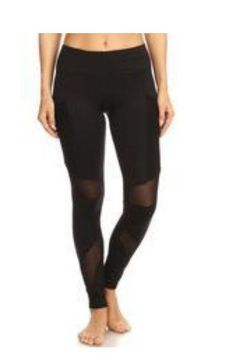 9781bcf85dd46 Fitness Leggings : Mesh Insert Performance Leggings – Diosa Edition Workout  Leggings, Lounge Wear,