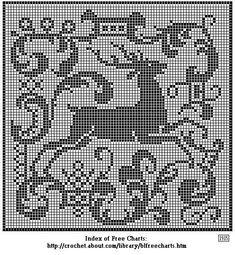 Gallery.ru / Фото #124 - Filet Crochet pour Point de Croix 2 - Mongia