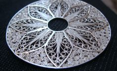 Filigree Pendant from our Cathedral window series -