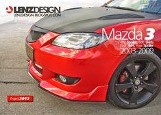 Mazda 3 BK Lenzdesign Bodykit & Spoilers 2003 2004 2005 2006 2007 2008 2009 Mazda 3 2006, Reliable Cars, Toyota Cars, Manual Transmission, Custom Cars, Carbon Fiber, Vehicles, Zoom Zoom, Kit