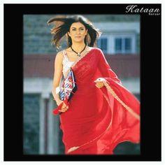 #Sushmita Sen looking gorgeous in a RED saree