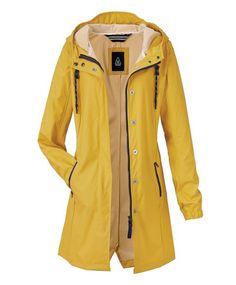 Regenmantel, Hudson Bay, Zwei-Wege-Zipper, Taillenriegel, Eingrifftaschen | Outdoormäntel | Mäntel | Women