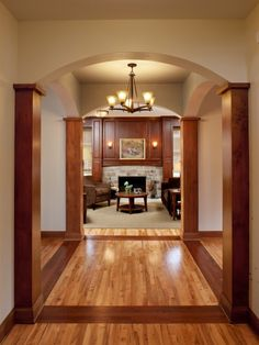 Simple Hardwood Floor Designs Hall Entry White Painted Wall   Home ...