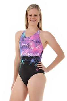 604fe07d8e09d Ladies Sport Back Kori One Piece Chlorine Resistant Swimsuit Ladies Sport  Back racing swimwear