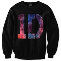 One Direction Sweatshirt - 1D Galaxy Shirt - One Direction Shirt - 1D... (110 BRL) ❤ liked on Polyvore featuring tops, hoodies, sweatshirts, shirts, sweaters, one direction, black sweat shirt, print shirts, sweatshirts hoodies and pattern shirts