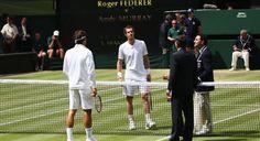 De lo mejor que he visto en los ultimos años. Perfeccion... Casi  Federer VS Murray Wimbledon 2015