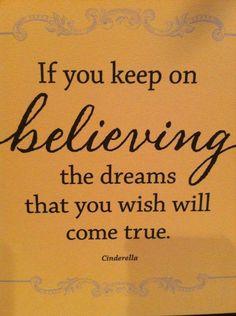 Just BELIEVE! <3