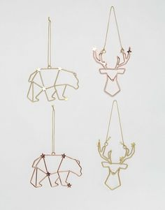 Paperchase | Paperchase Christmas Constellation Decorations