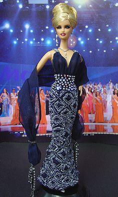 OOAK Barbie NiniMomo's - Miss Finland 2005-2006