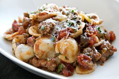 Post image for Orecchiette With Eggplant And Pork Ragu, The Little Ears That Comfort