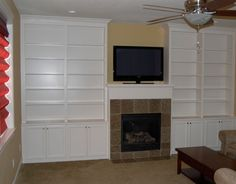 fireplace surrounds with bookcases | Remodeling - Willamette Valley Fine Woodworking