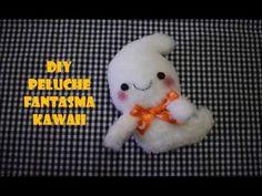Los mundos de Esthercita: Tutorial fantasma de peluche kawaii