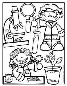 Science Coloring Pages 02 – Science Coloring Pages House Colouring Pages, Cute Coloring Pages, Free Coloring, Adult Coloring Pages, Coloring Pages For Kids, Coloring Sheets, Coloring Books, Kids Coloring, Art Drawings For Kids