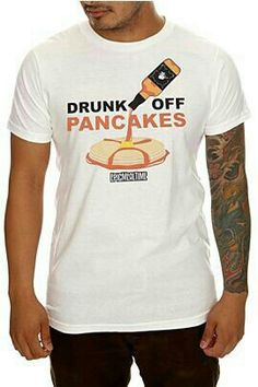 drunk on pancakes