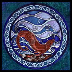 Image result for celtic otter
